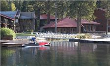 Donner Lake Village Morning Paddleboat