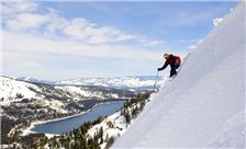 Skiing near Donner Lake Village