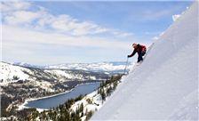 Skiing near Donner Lake Village