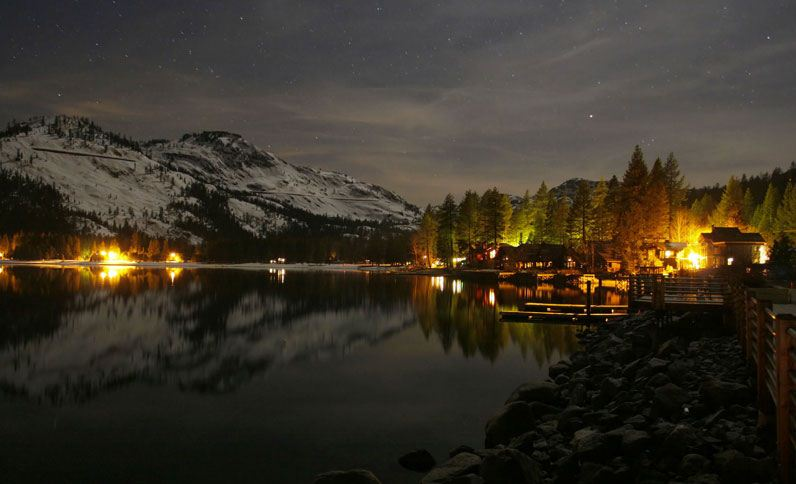 Truckee hotel photos donner lake village for Donner lake fishing report