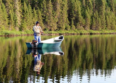 Donner Lake Fishing at California