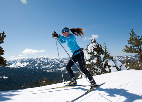Royal Gorge Cross Country Ski near Truckee