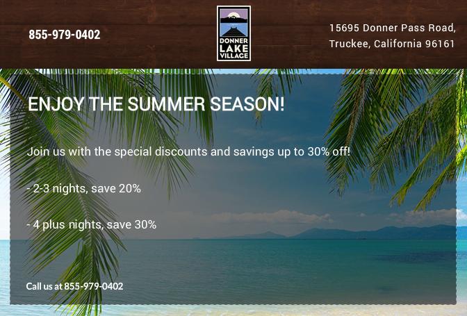 Enjoy the Summer Season!