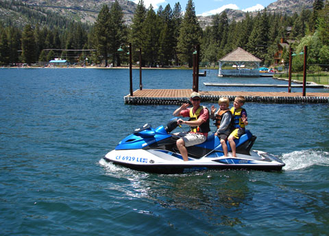 Donner Lake Village Marina at Truckee