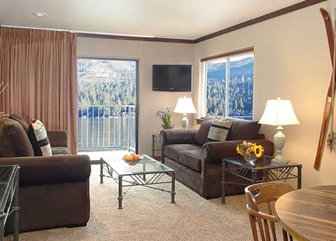 One Bedroom Deluxe Lakeview at Donner Lake Village, Truckee
